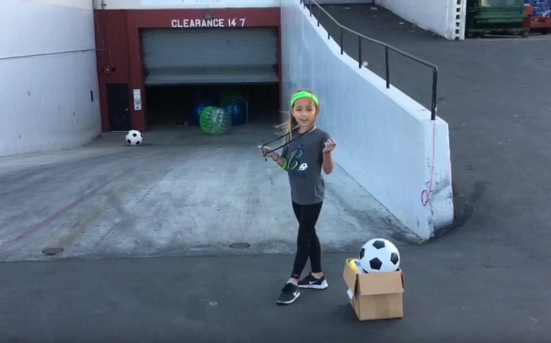 Bubble Soccer Club Intern Blooper