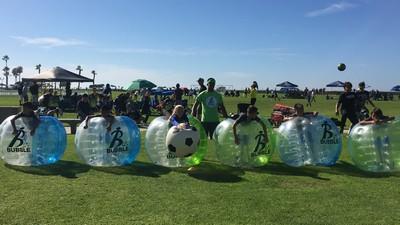 Fall 2017 Highlight – Bubble Soccer Club at Coronado Cays/Presidio Tournament