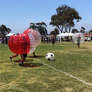 Bubble Soccer At Torrey Pines Highschool